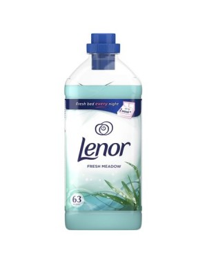 Balsam de rufe LENOR FRESH MEADOW, 63 spalari, 1.9L
