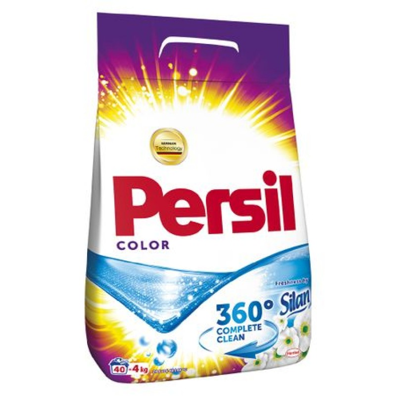 Detergent pudra PERSIL COLOR FRESHNESS BY SILAN, 40 spalari, 4 kg