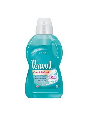 Detergent lichid PERWOLL CARE & REFRESH, 15 spalari, 900 mL