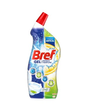 Dezinfectant toaleta BREF GEL LEMON, 700 mL
